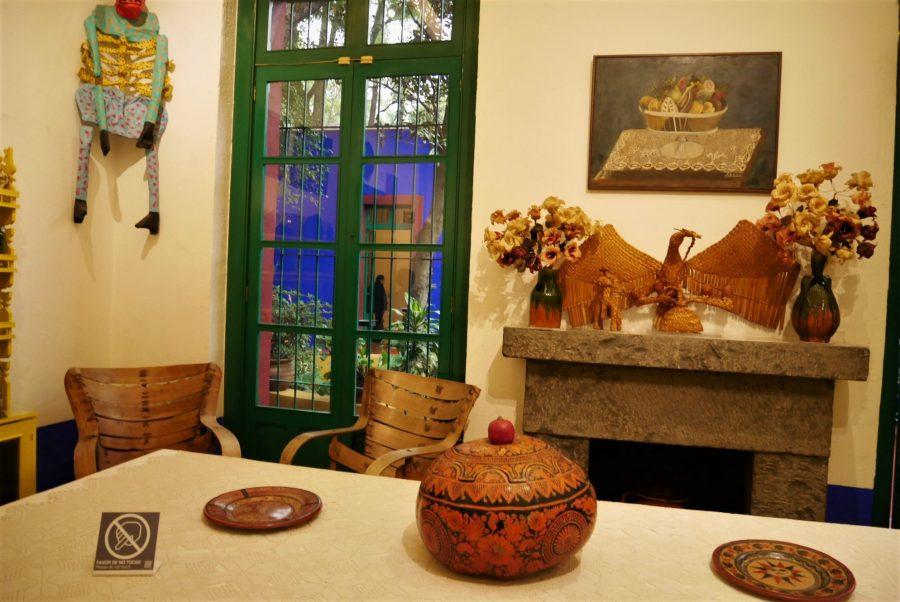 Salón de la Casa Museo de Frida Kahlo