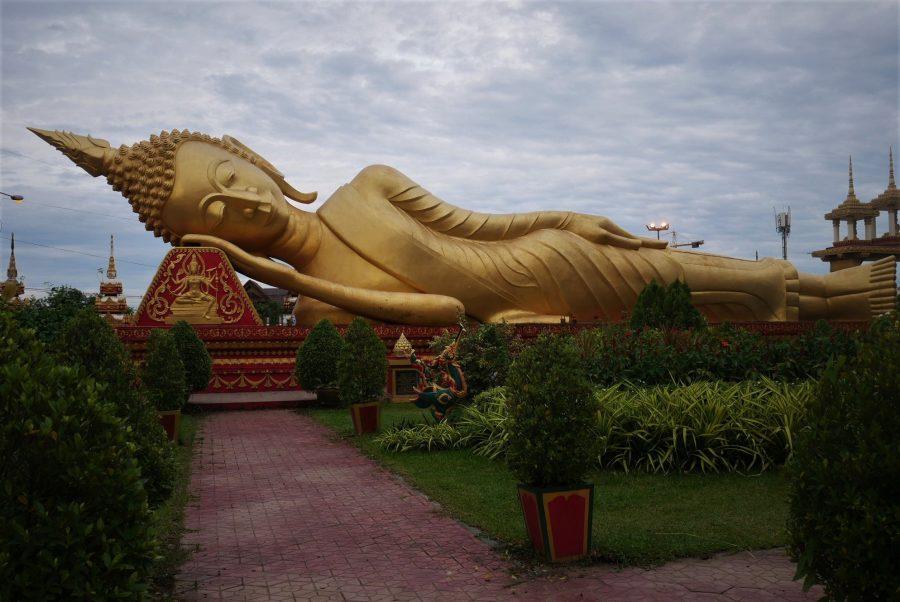 Buda Acostado, qué ver en Vientiane