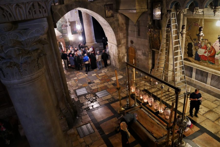 Iglesia del Santo Sepulcro en Pascua, Jerusalén