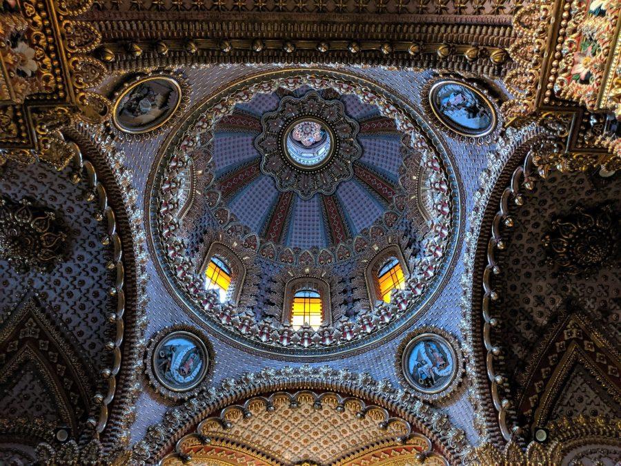 Cúpula del Santuario de la Virgen de Guadalupe en Morelia