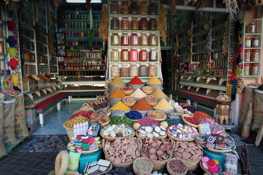 La farmacia bereber de Marrakech
