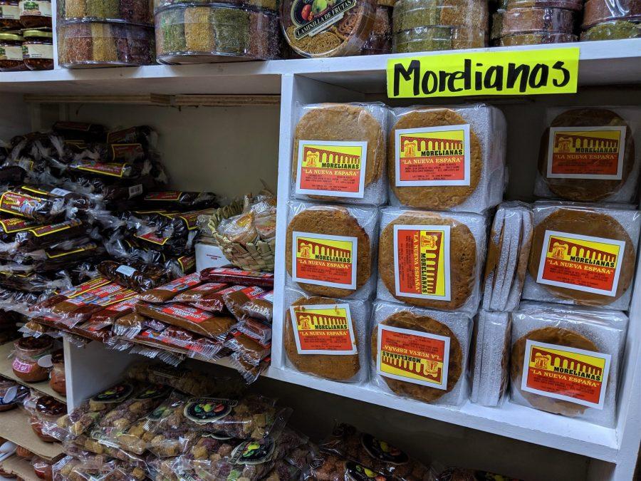 Morelianas, mercado del Dulce