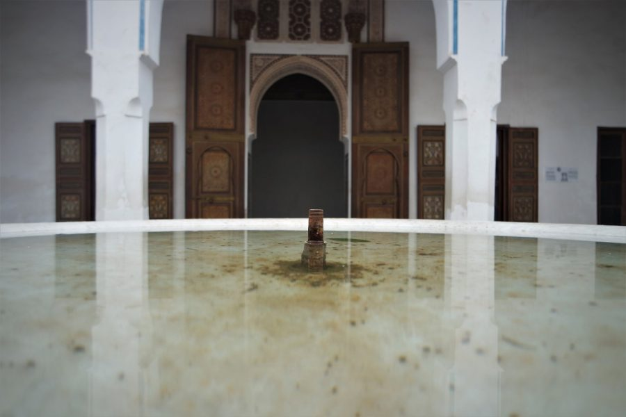 Palacio de la Bahía en Marrakech