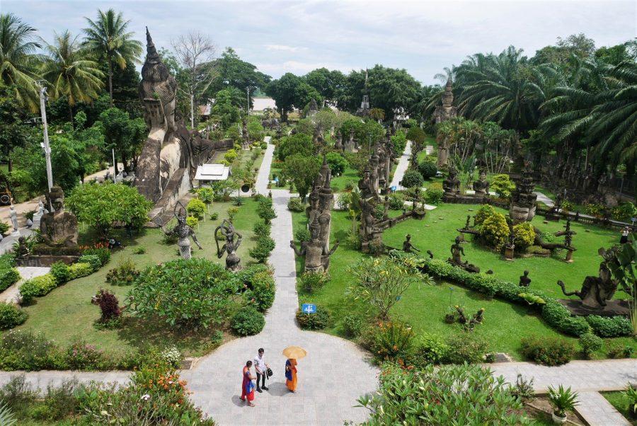 Buda Park, ruta de 8 días por Laos
