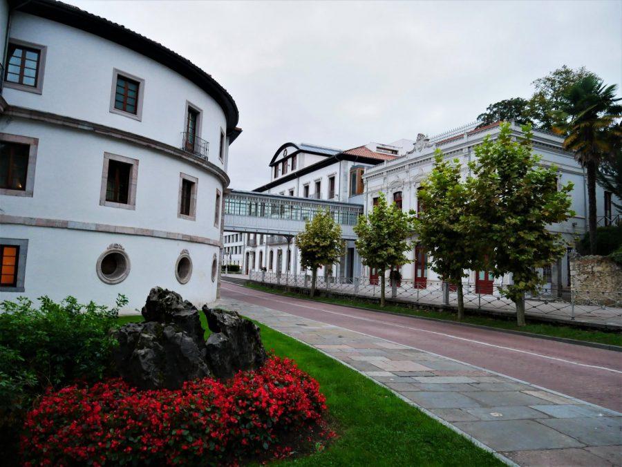 Edificio histórico de Las Caldas