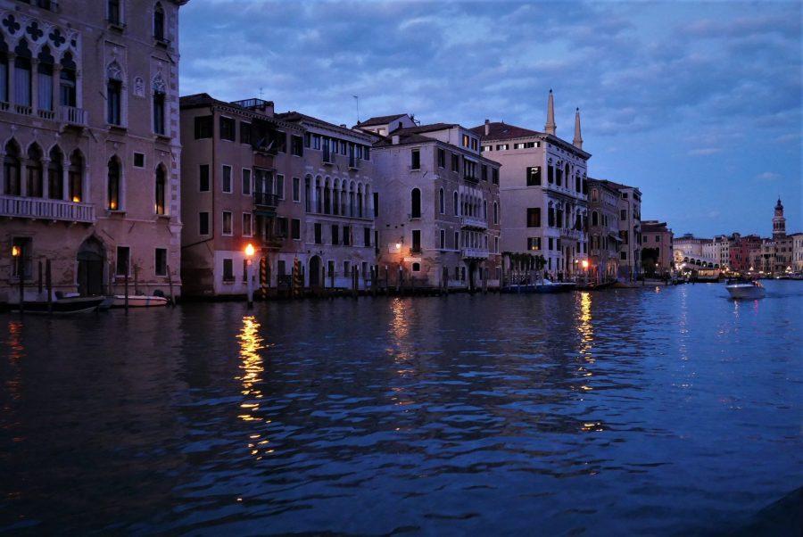 Gran Canal de Venecia desde el vaporetto