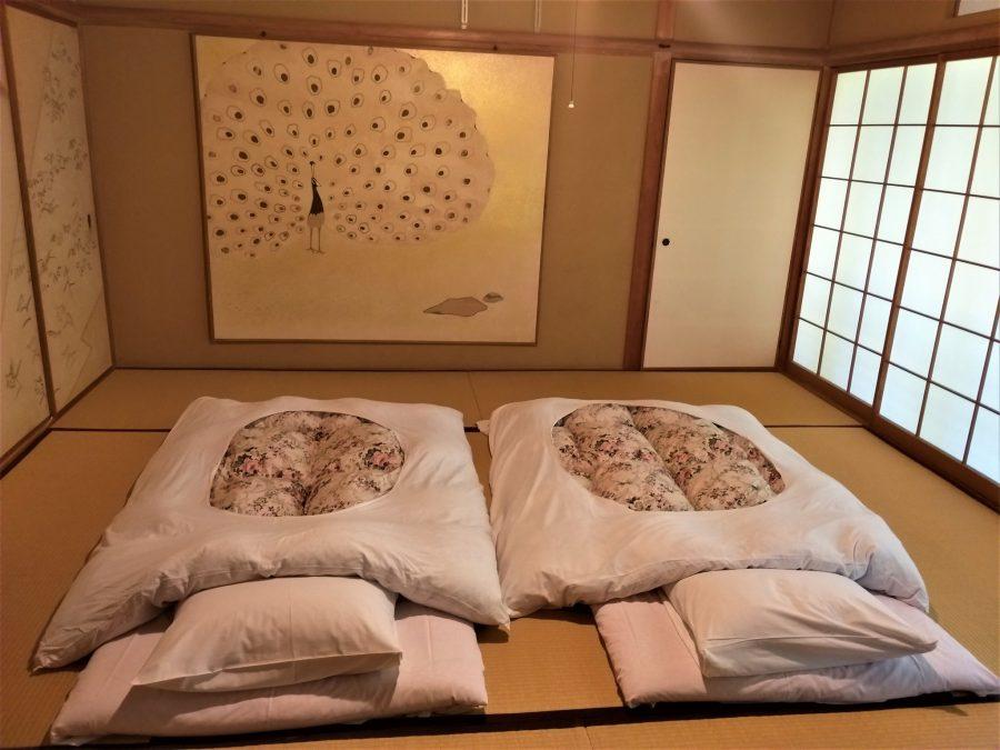 Habitación en el monasterio de Koyasan
