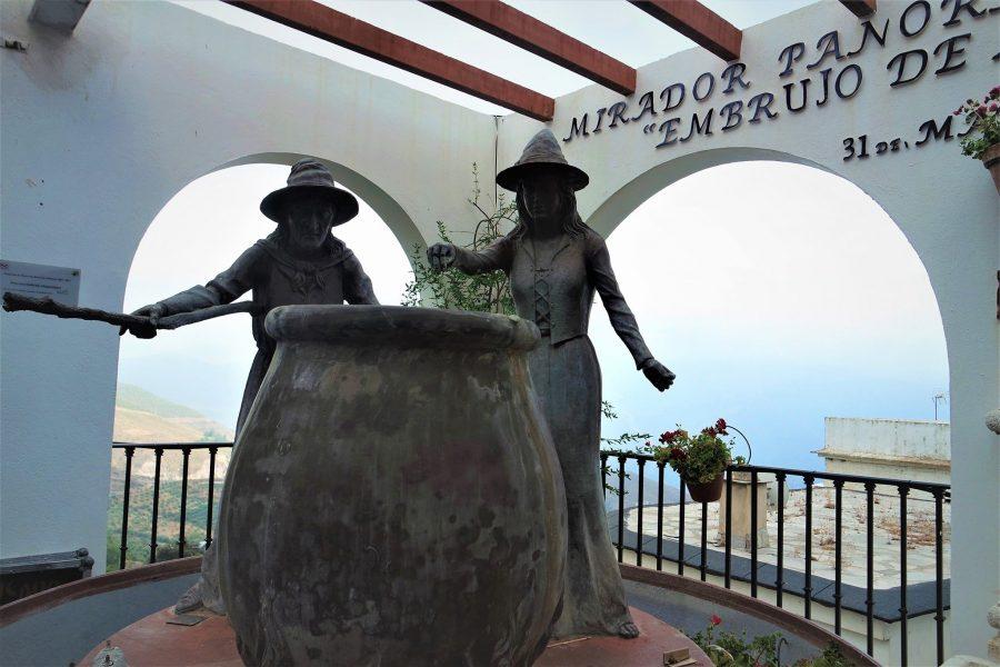 Mirador del Embrujo, qué ver en Soportújar