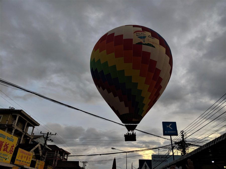Paseo en globo, qué hacer en Vang Vieng