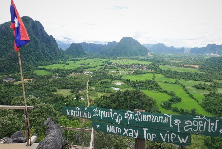 Vistas de Nam Xay, Vang Vieng