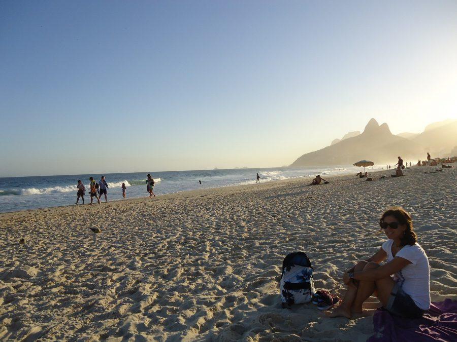 Atardecer en Ipanema, viajar a Brasil por libre