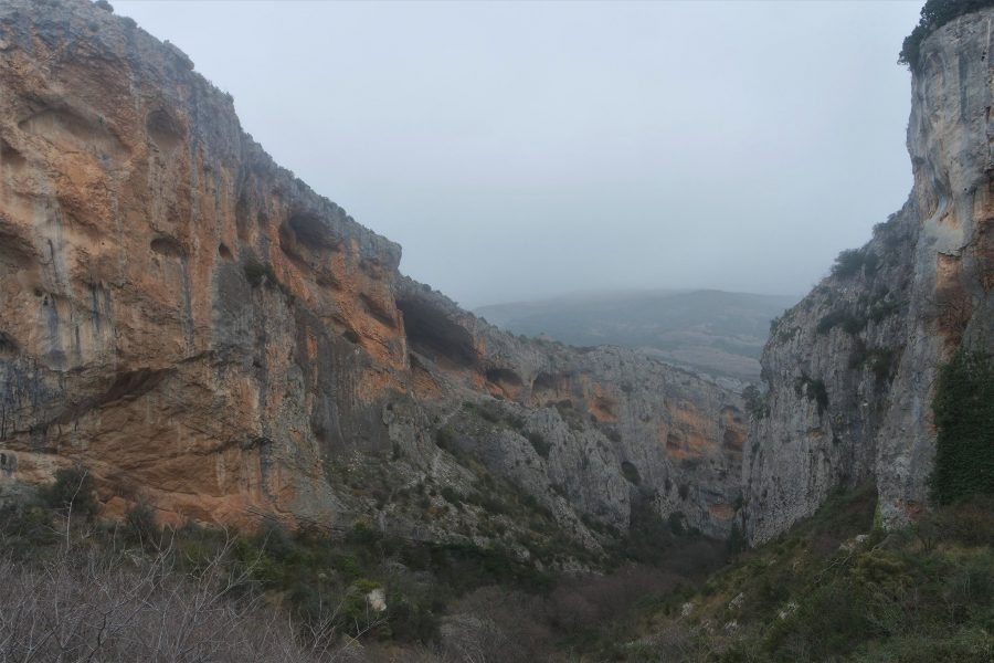 Cañón del río Vero en Alquézar