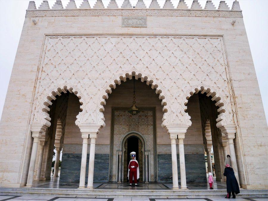 El Mausoleo de Mohamed, Rabat