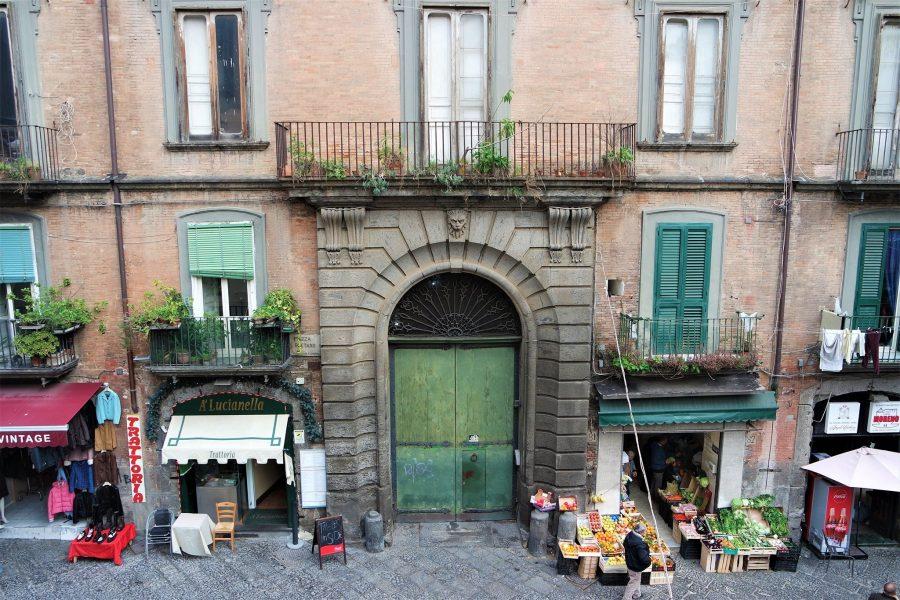 El centro de Nápoles