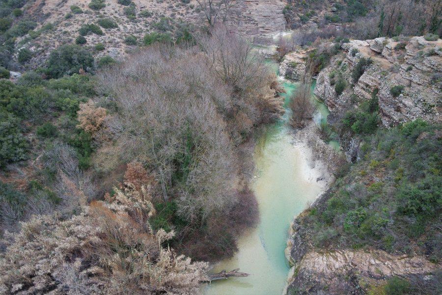 El río Vero, Alquézar