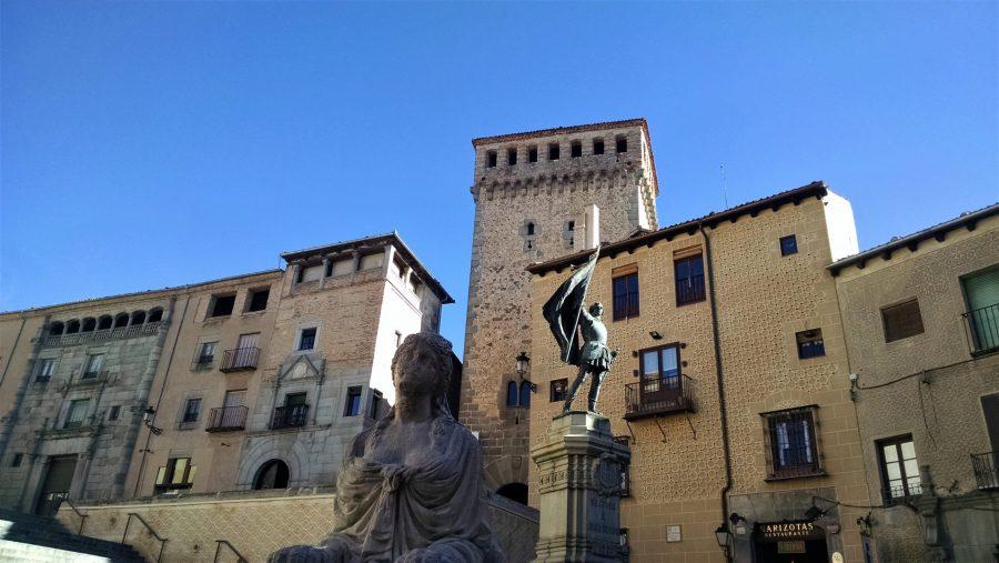 Plaza de Medina del Campo, Segovia