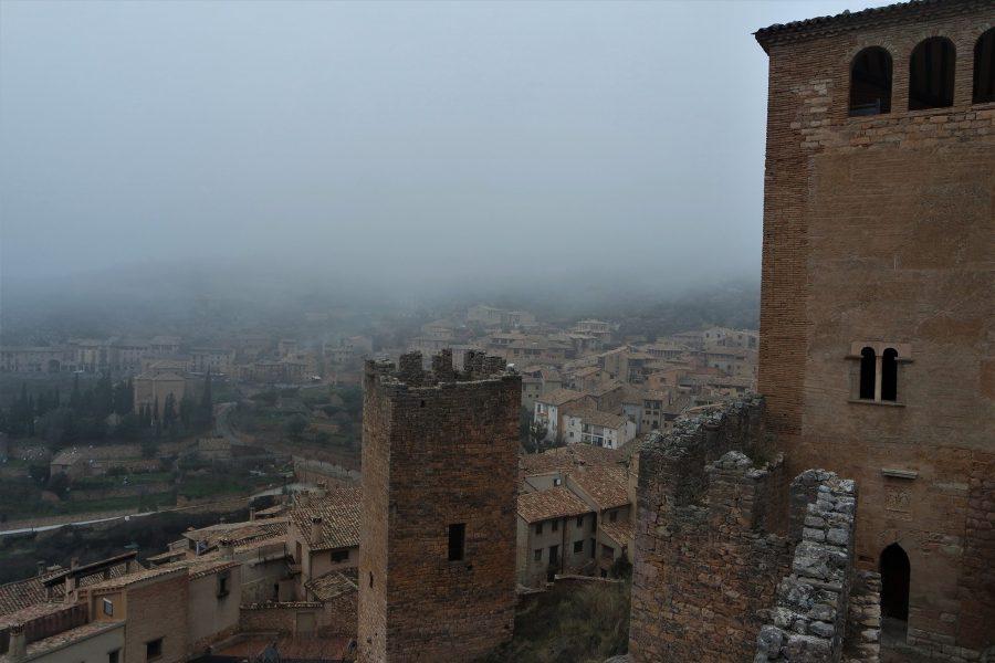 Restos del castillo de Alquézar, Huesca