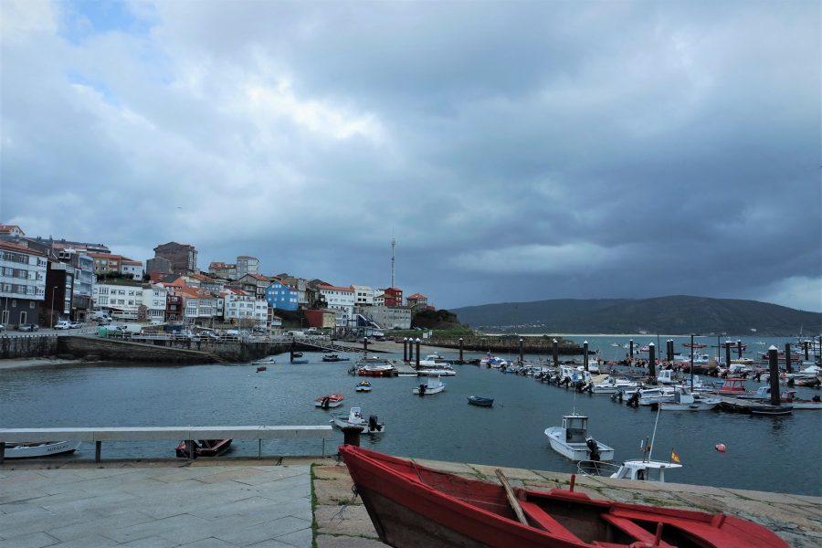El puerto de Fisterra, ruta por Galicia en coche