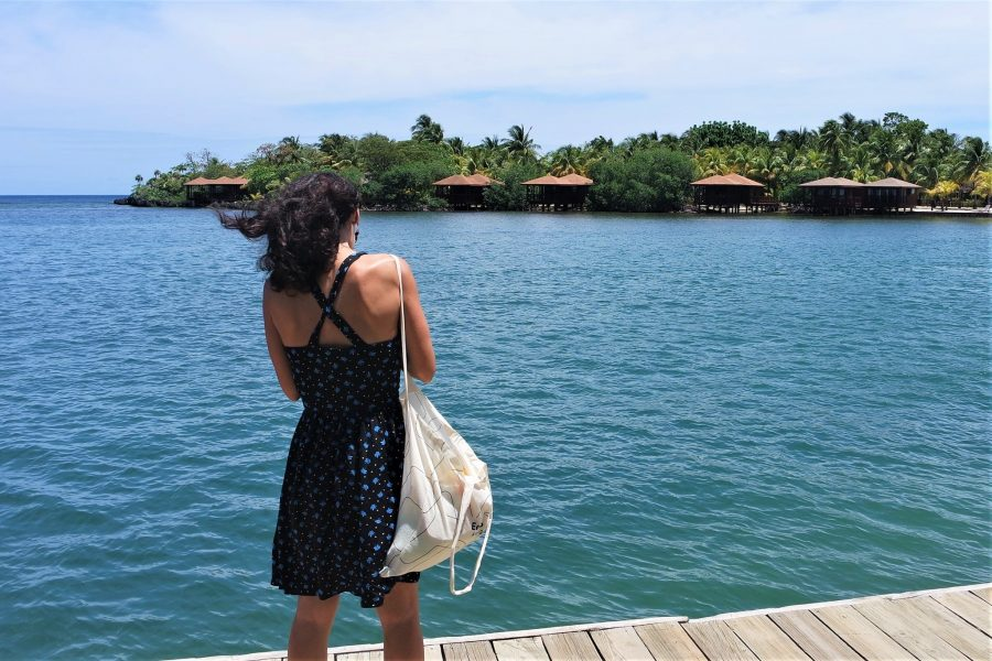 Isla de Roatán en Honduras
