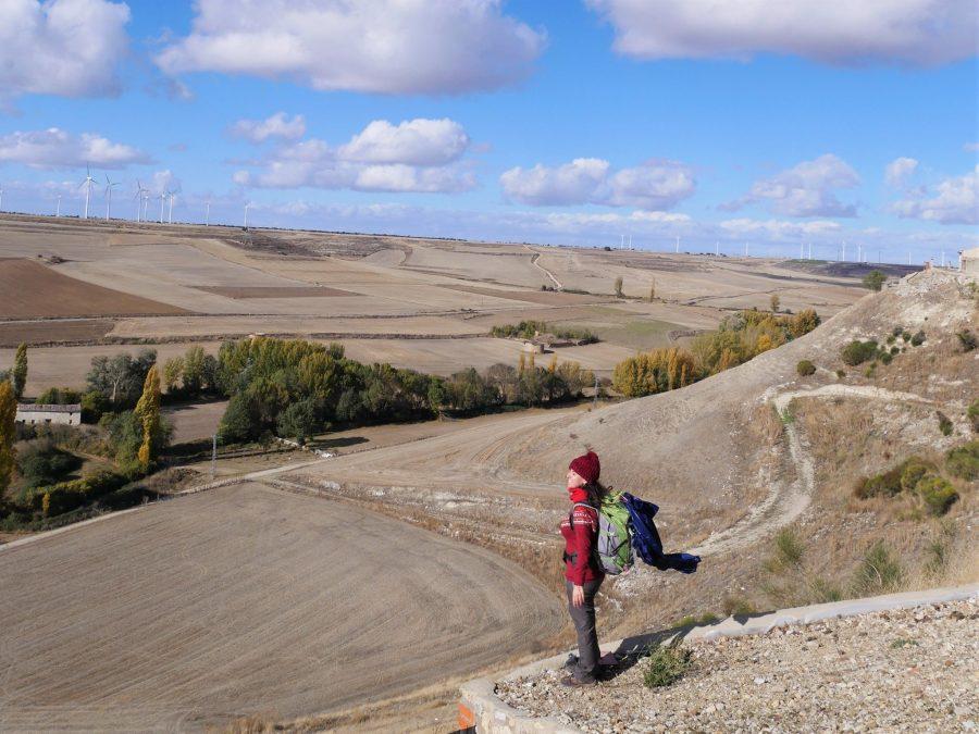 Peñaflor de Hornija, el Camino de Madrid a Santiago