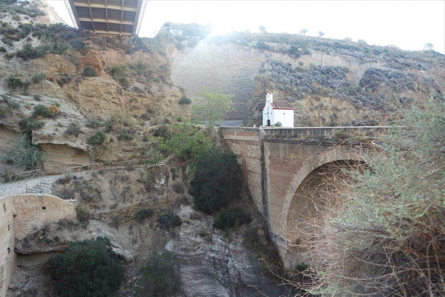 Barranco de Tablate entre el valle de Lecrín y La Alpujarra