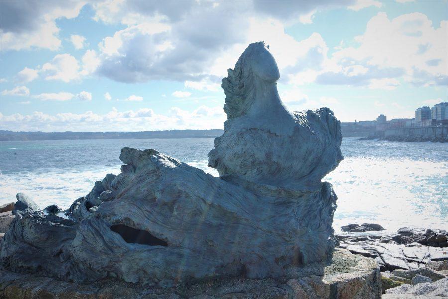 Escultura de Sirena, qué ver en A Coruña, Galicia