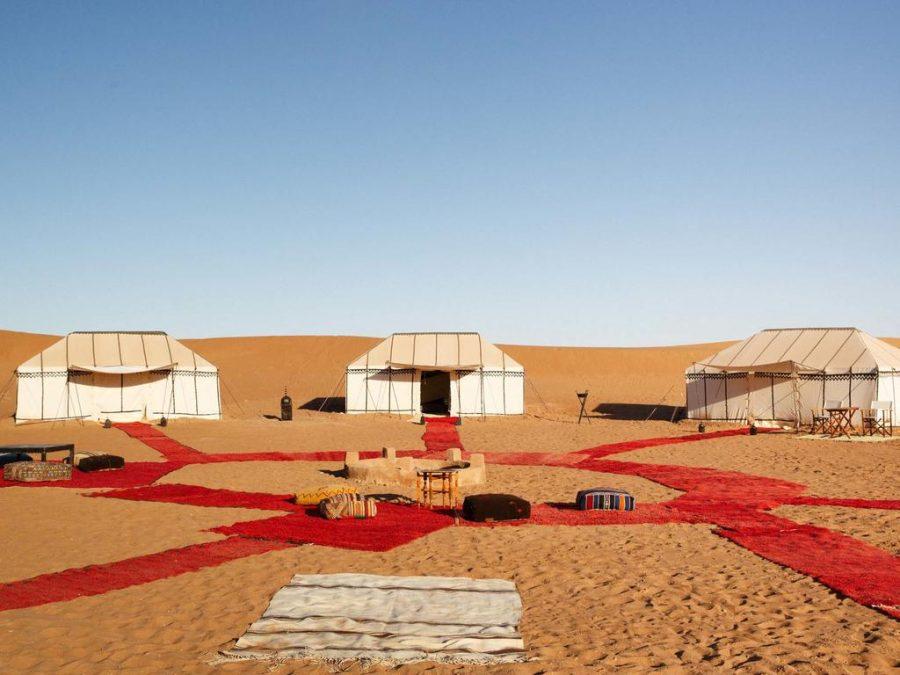 Nubia Camp en Erg Chigaga