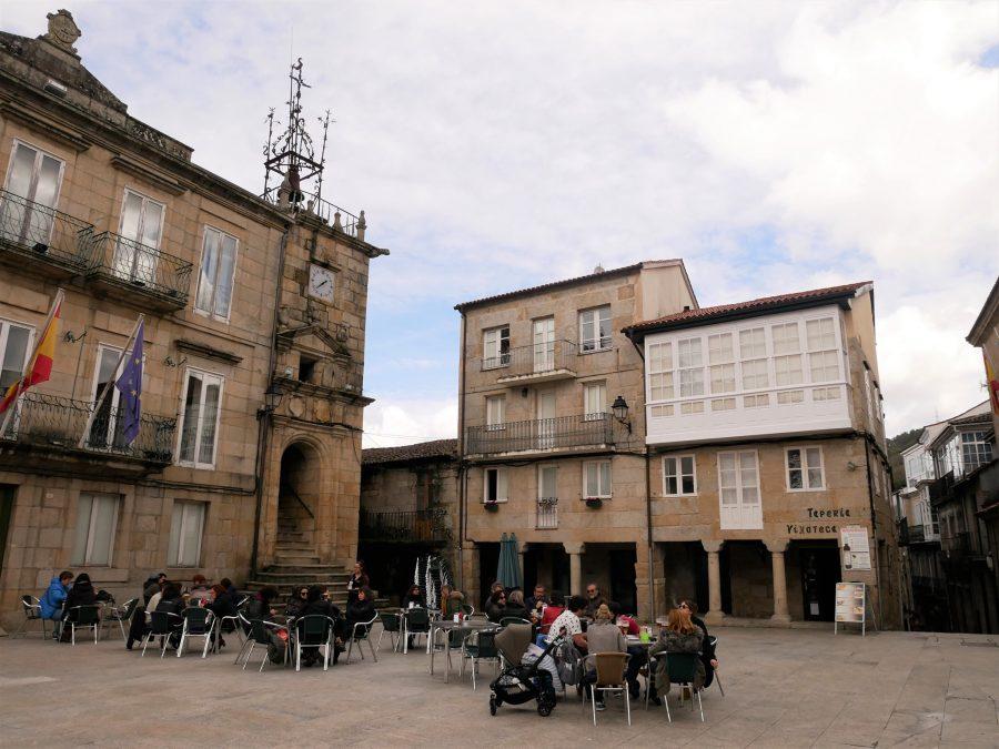Plaza Mayor, qué ver en Ribadavia Galicia