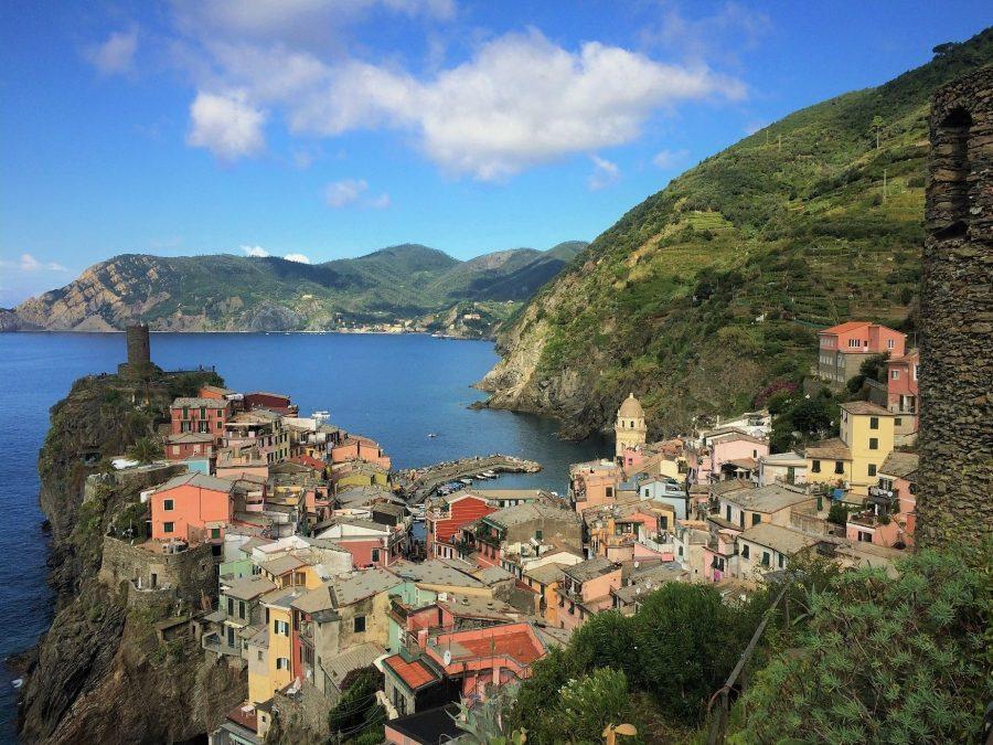 Vistas de Vernazza, uno de los pueblos de Cinque Terre
