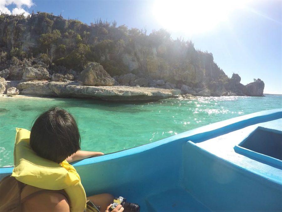 Barca a Bahía de las Águilas