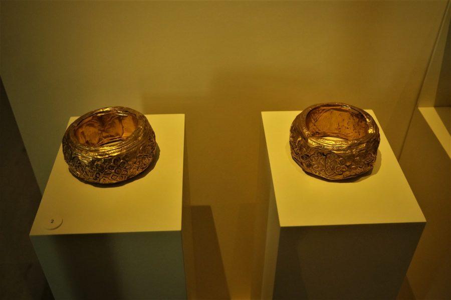 Brazaletes del Tesoro de Mondújar, imprescindibles del Museo Arqueológico Nacional