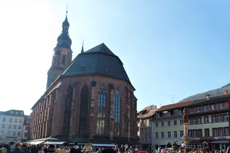 Centro histórico, qué ver en Heidelberg Alemania