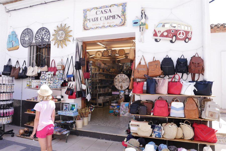 Comercios locales en El Castell de Guadalest
