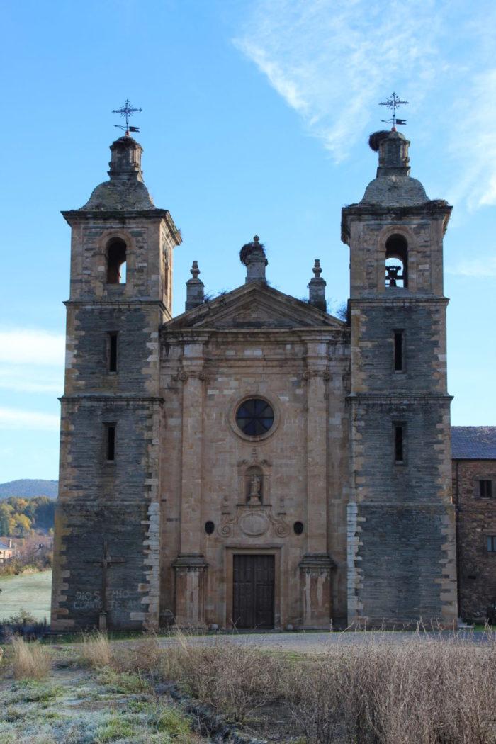 Iglesia Convento de San andres de Vega de Espinareda