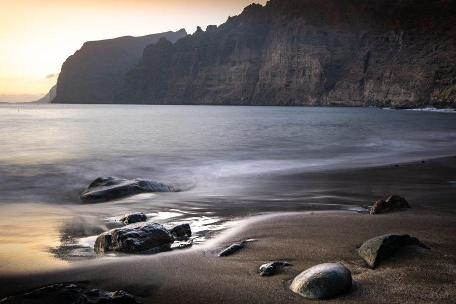 Playa de los Gigantes en Tenerife