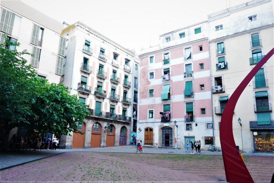 Plaza del Fosal de las Moreras, qué ver en el Born de Barcelona