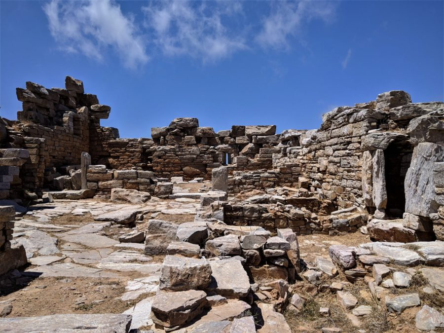 Ruinas clásicas, Amorgos