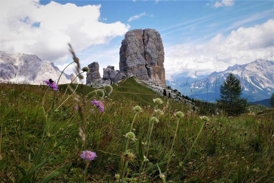 Cinque Torri, trekkings en Dolomitas