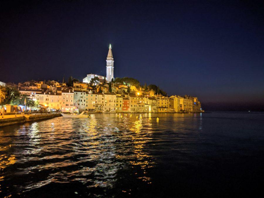 Croacia, Rovinj al anochecer