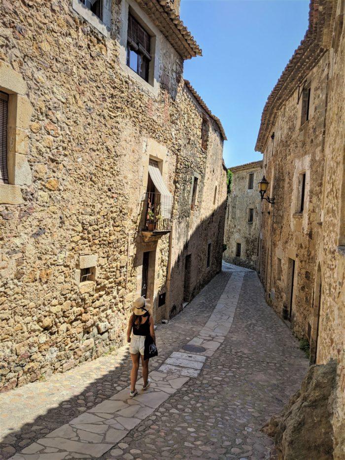 De paseo por Pals, Girona