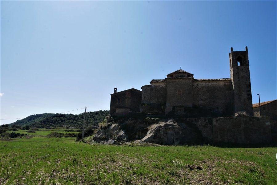 Iglesia románica de San Juan de Montdarn, ruta por el Berguedà