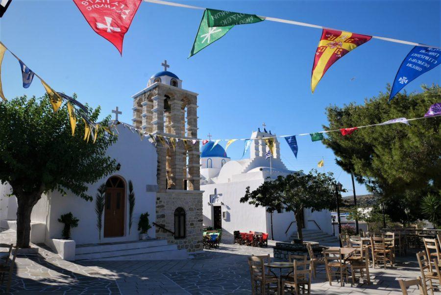 Knosos, un pintoresco pueblo que ver en Paros, Grecia