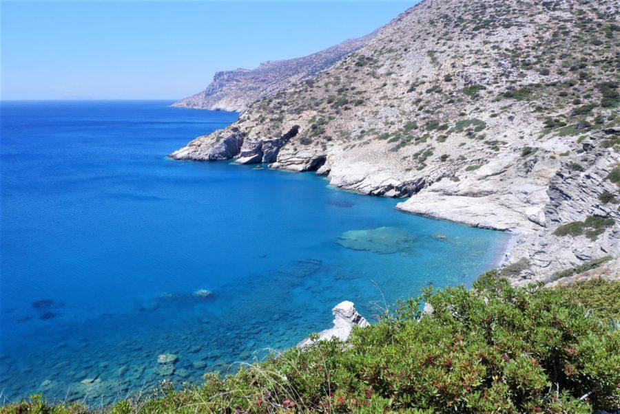 La escapada costa de Amorgos