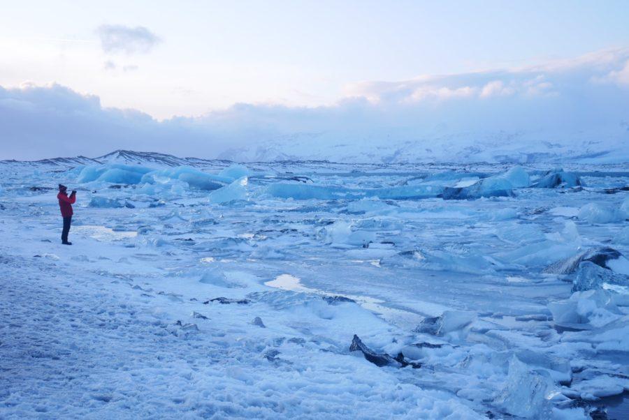 Lago glaciar de Jökulsárlón, Islandia