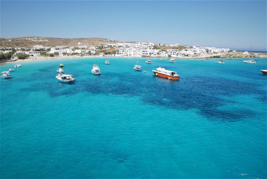 Las islas griegas desde el barco