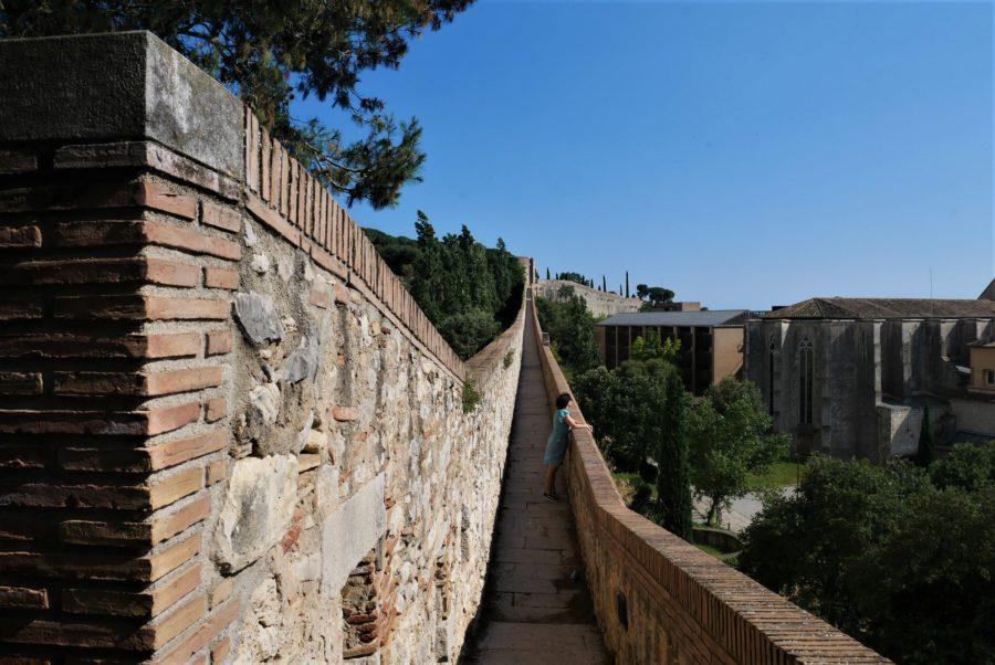 Las murallas de Girona, qué ver en Girona en un fin de semana