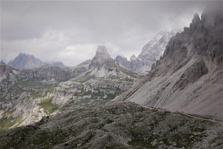 Ruta por los Dolomitas, trekking a Tres Cimas di Lavaredo
