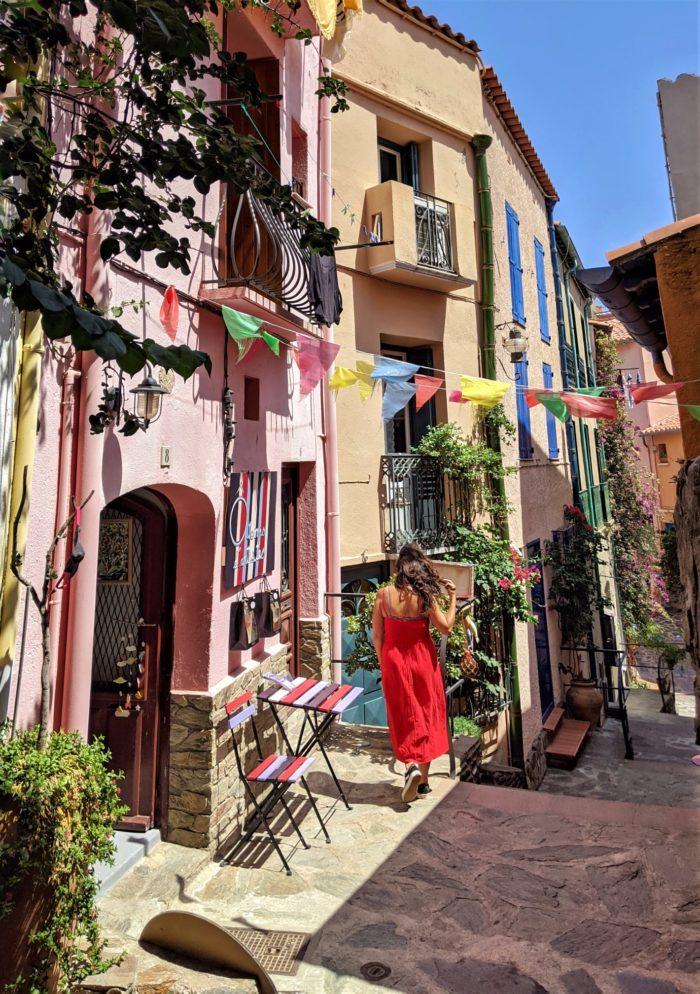 Un paseo por Collioure, Francia