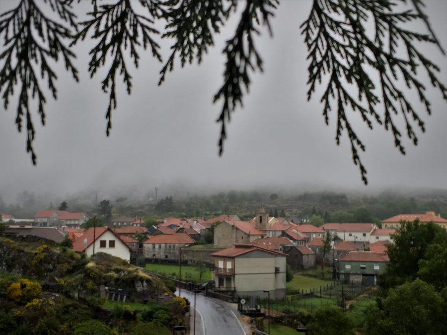 Castro Laboreiro entre la lluvia