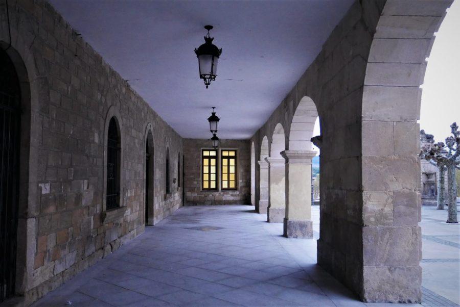 La plaza Mayor de Medinad de Pomar